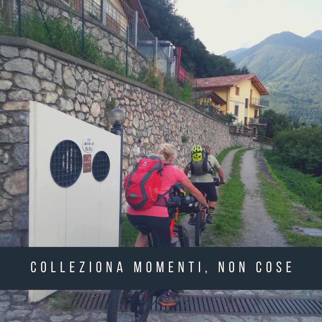 Bike Hotel Valle Camonica: il B&B L'orto di BaLù