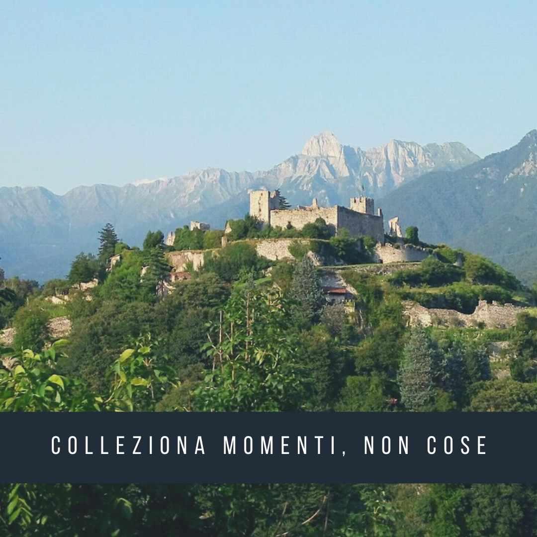 Cammino di Carlo Magno: castello di Breno