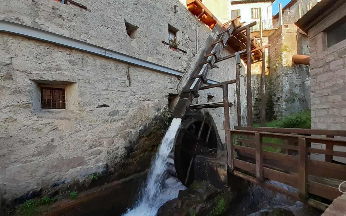 Il mulino ad acqua di Bienno