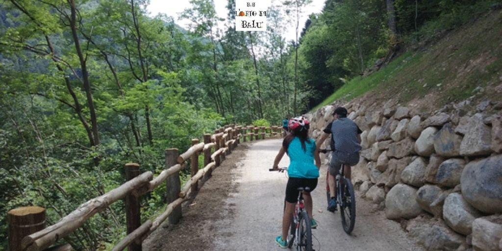 La ciclovia del fiume Oglio: il tratto camuno