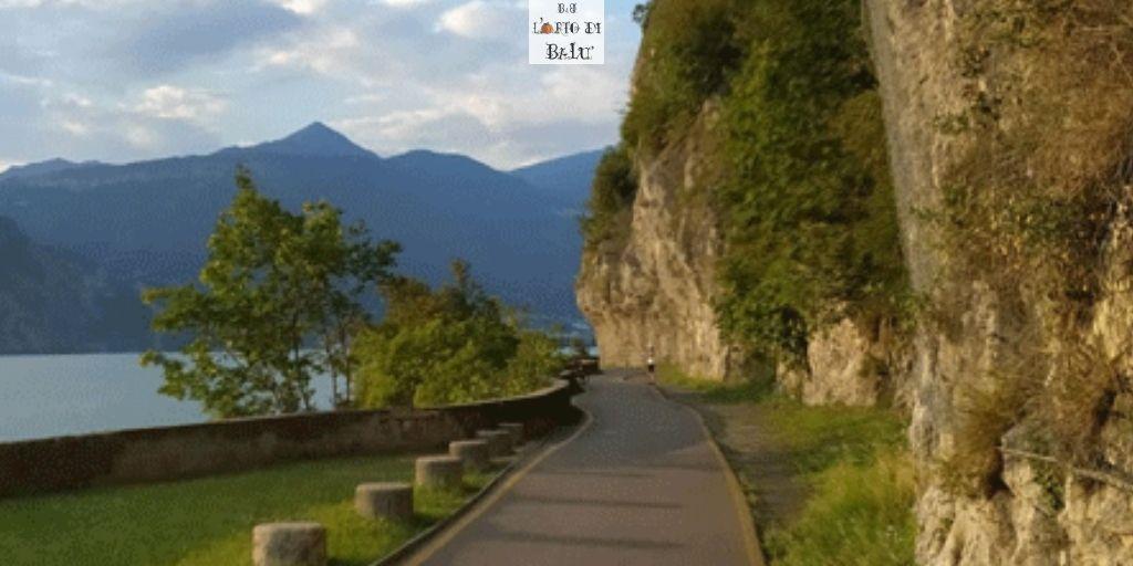 La Vello-Toline: un tratto della ciclovia dell'Oglio